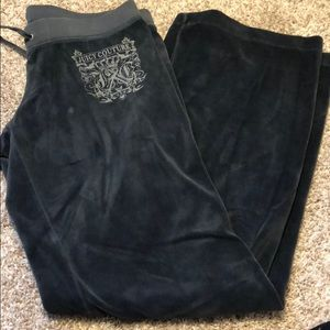 Juicy velour pant and matching jacket